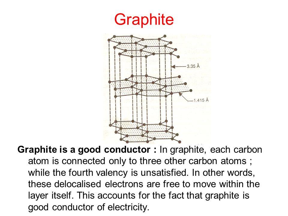 valency of graphite