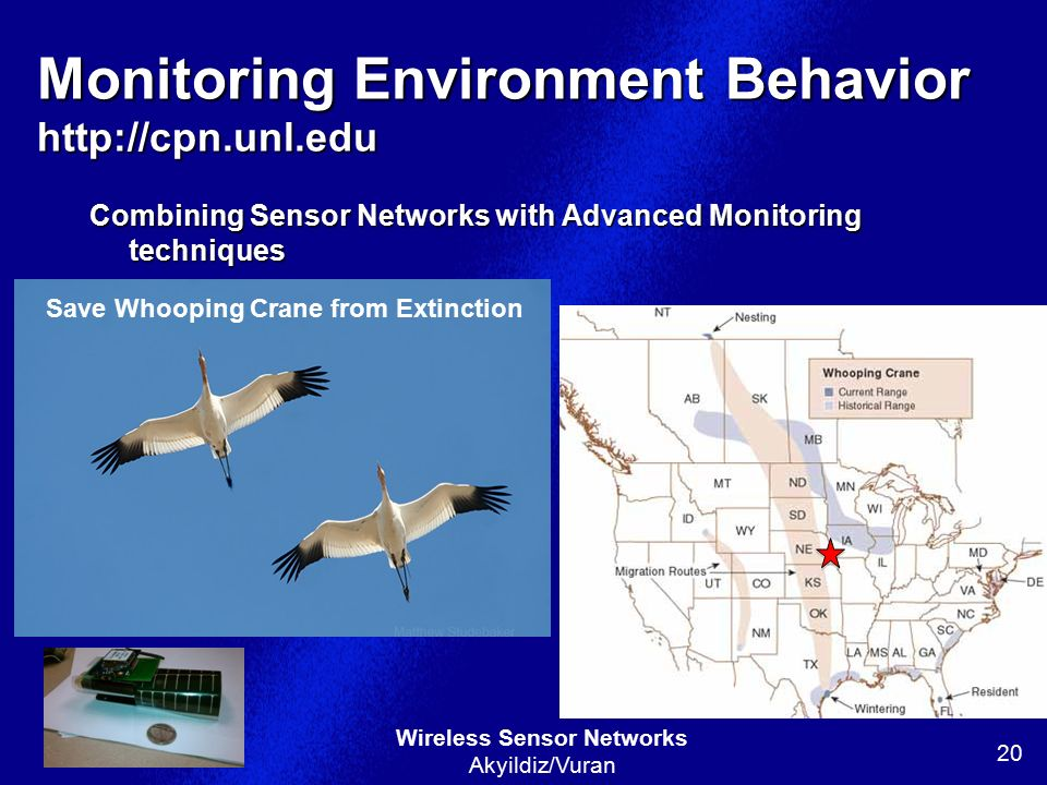 Monitoring Environment Behavior http://cpn.unl.edu