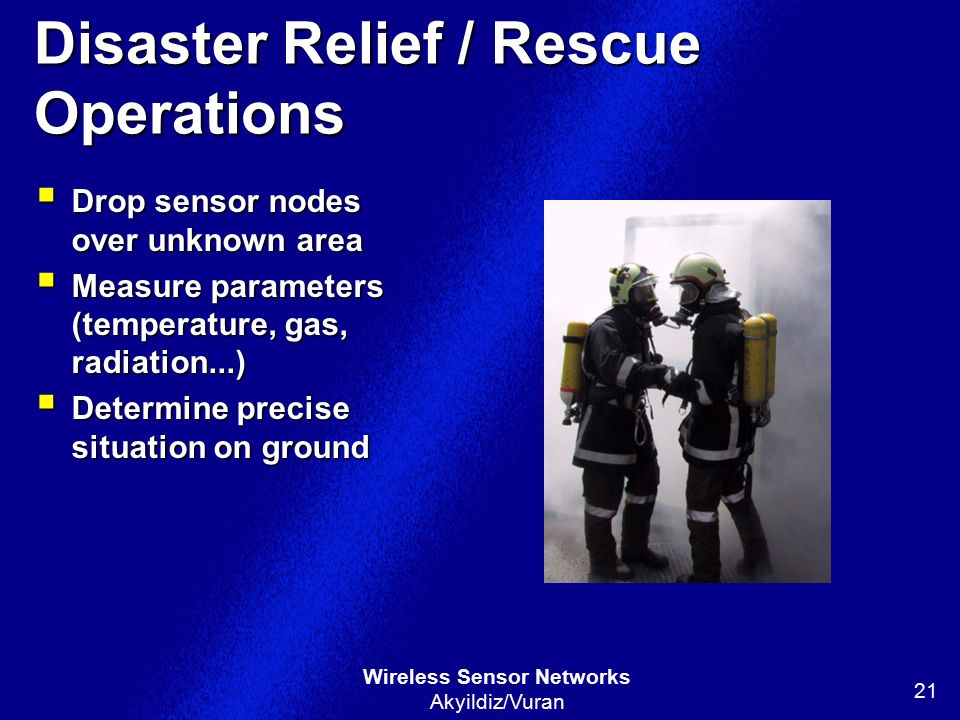 Disaster Relief / Rescue Operations
