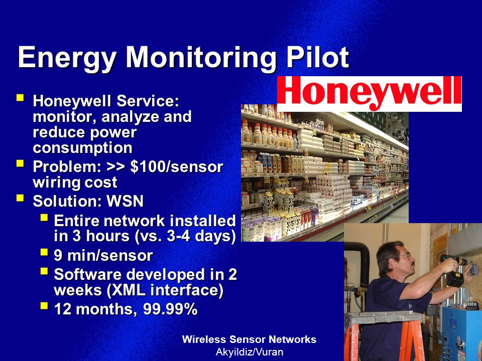 Energy Monitoring Pilot