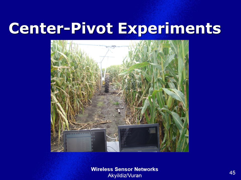 Center-Pivot Experiments