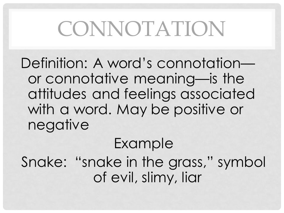 Denotation And Connotation Ppt Video Online Download