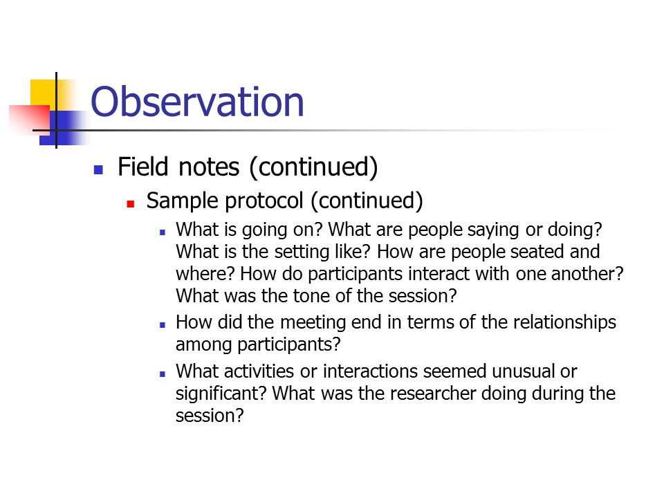 Educational Research Qualitative Research: Data Collection - ppt ...