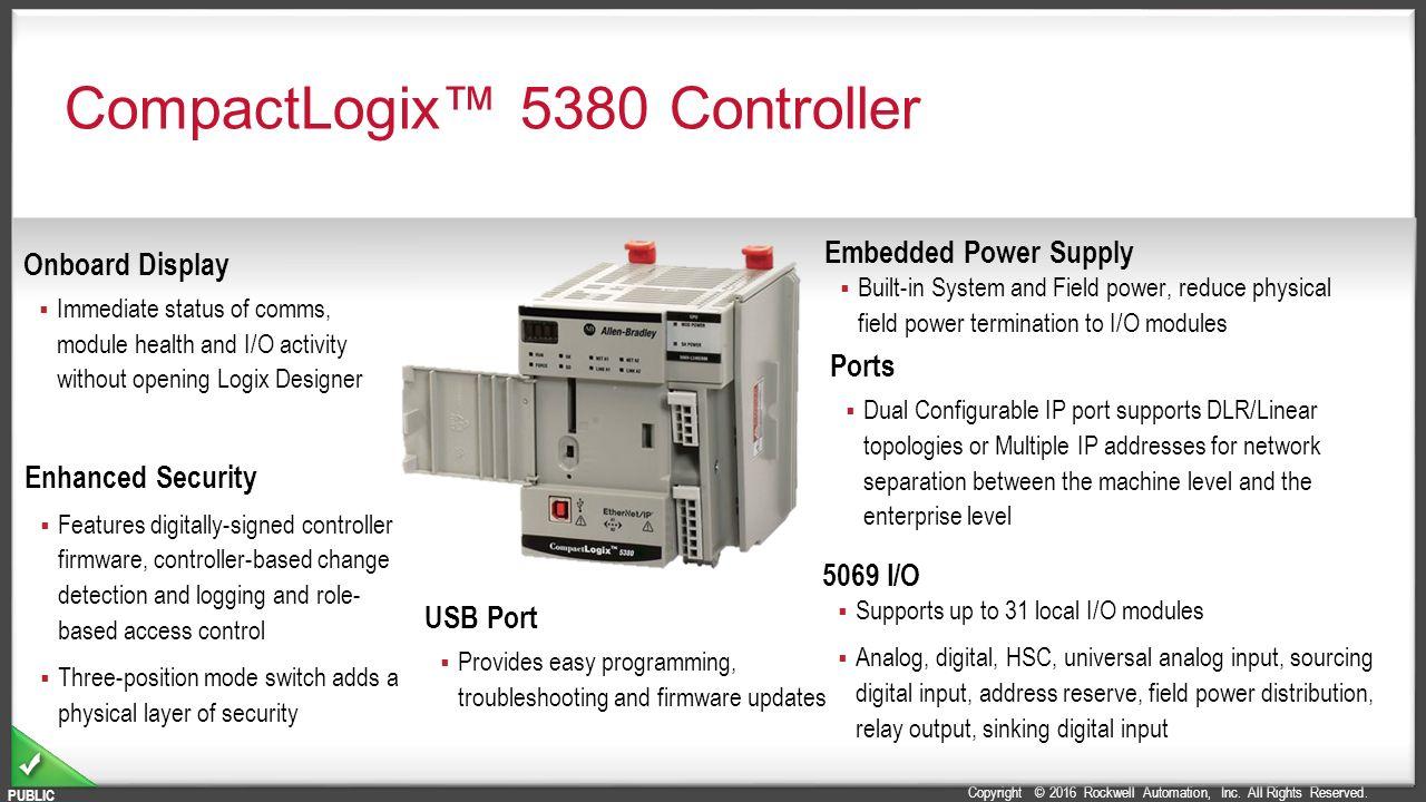 CompactLogix Controllers Portfolio - ppt video online download