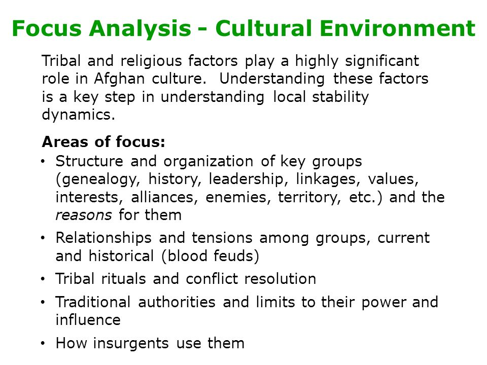 an analysis of the understanding of what culture is all about Cultural relativism, or the understanding that the basis by which one measures the behaviors and customs of another culture are done so through the lens of one's own cultural standards, is also.