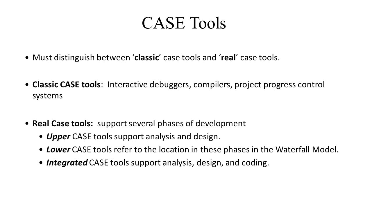 Case Tools And Their Effect On Software Quality Ppt Video Online Download