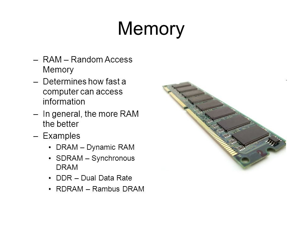 Geek basics: what type of ram do i have in my computer? Geek. Com.