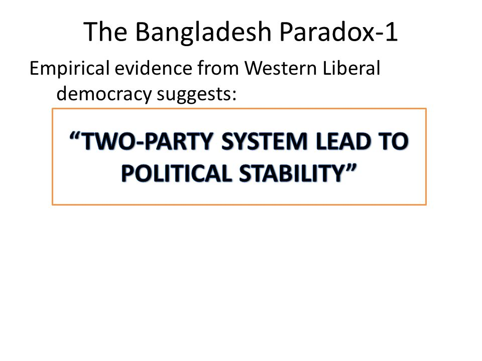 Chapter 5: Political Parties in Bangladesh - ppt video