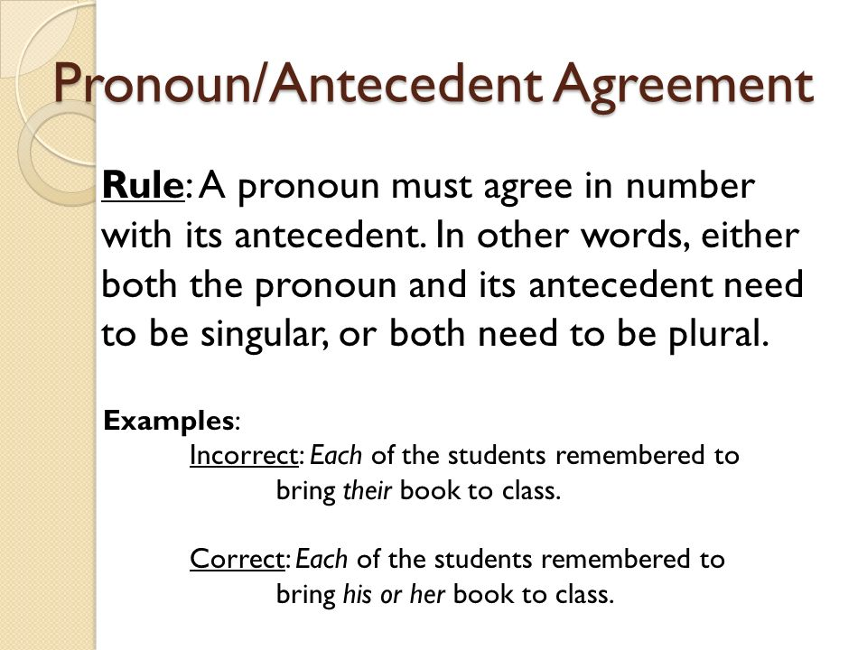 subject verb agreement definition pdf