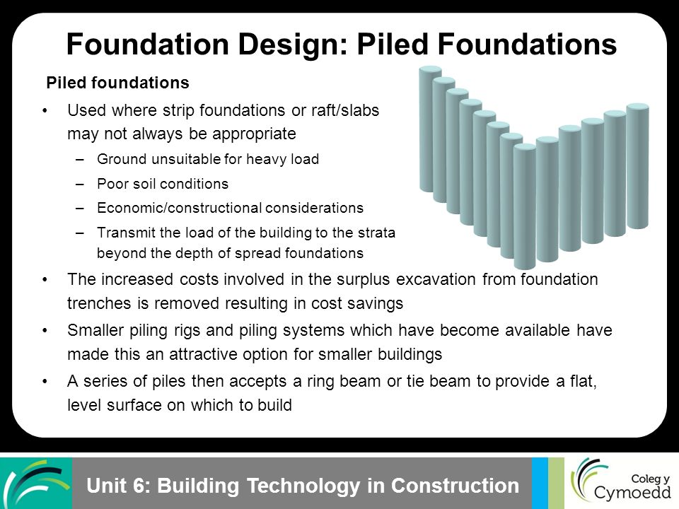Understand foundation design and construction - ppt video online
