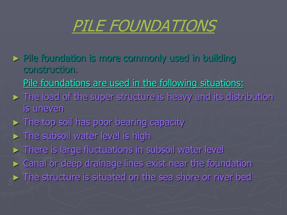 FOUNDATIONS  - ppt video online download