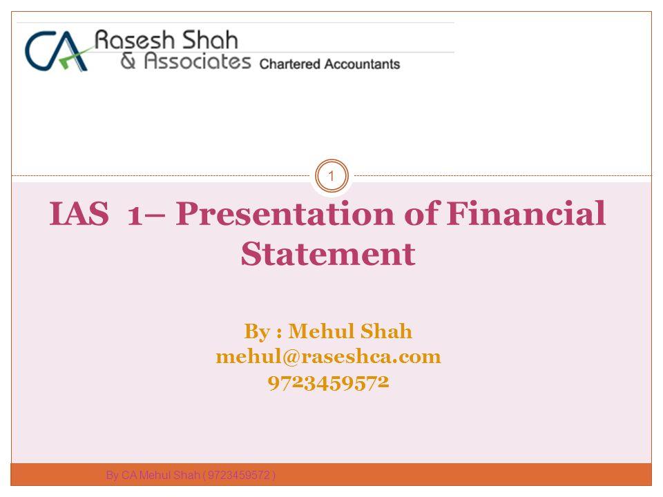 Learn ias 1 presentation of financial statements learn debit credit.