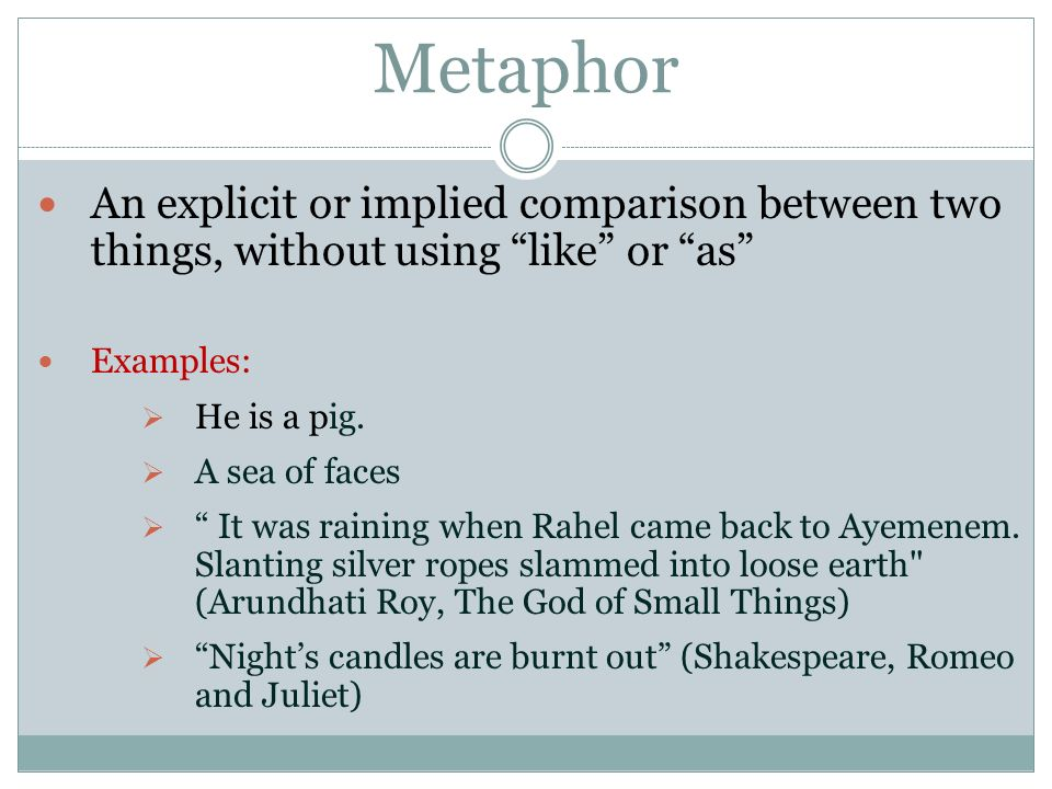 Examples Of Metaphor In Romeo And Juliet Images Example Cover