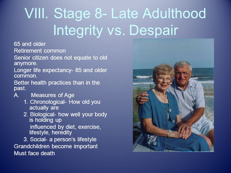 integrity vs despair