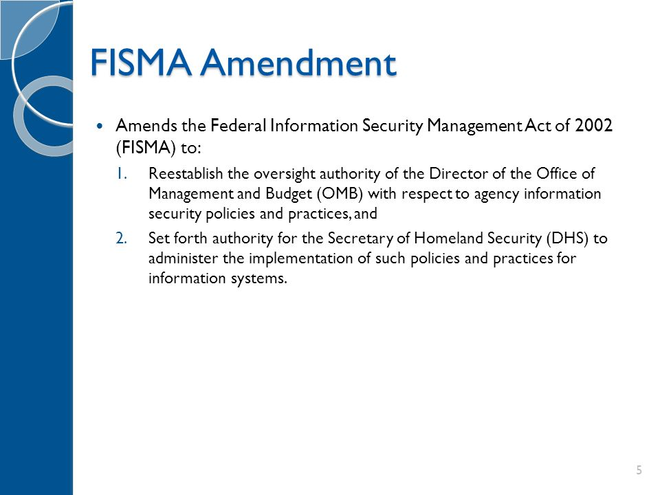 Federal Security Privacy Update FISMA OMB NIST Ppt Download - Information security policy template nist