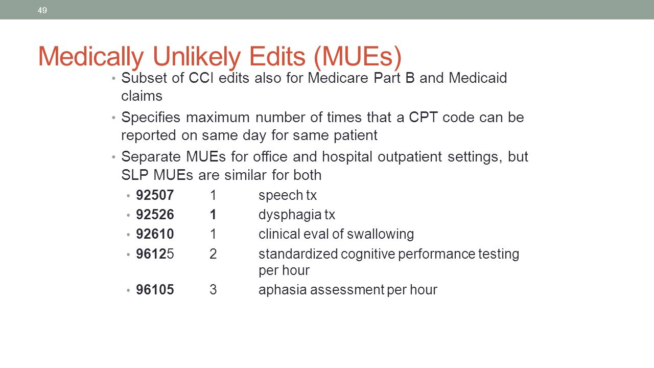 speech therapy cpt code for cognitive evaluation