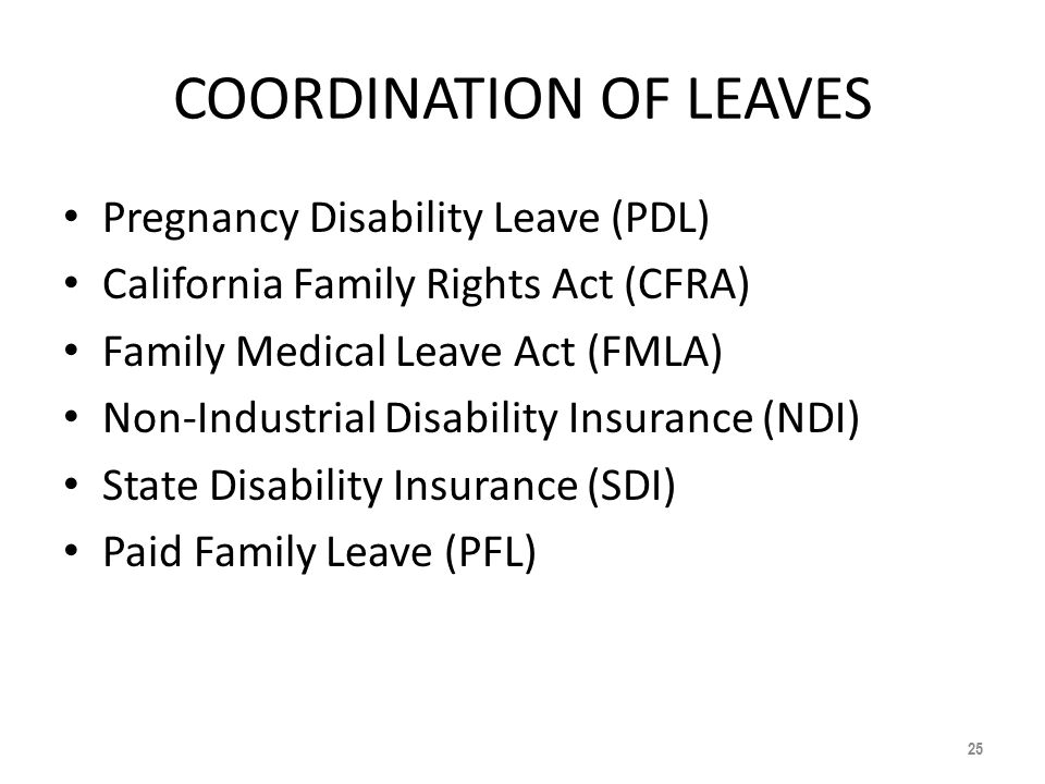 California Department Of Human Resources Calhr State Disability