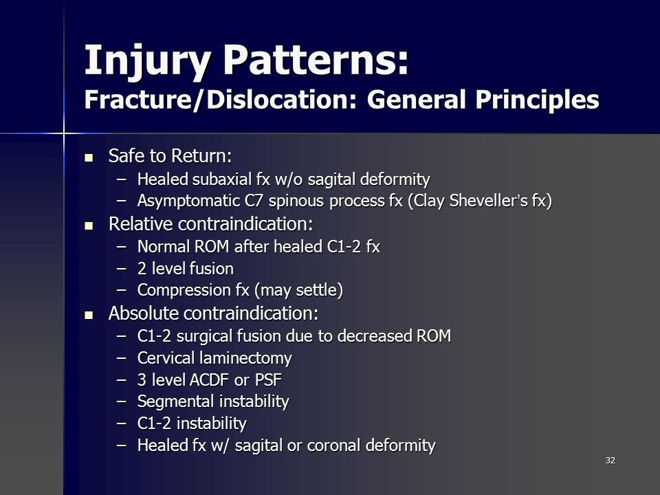 Cervical Spine Injuries in Sports - ppt video online download