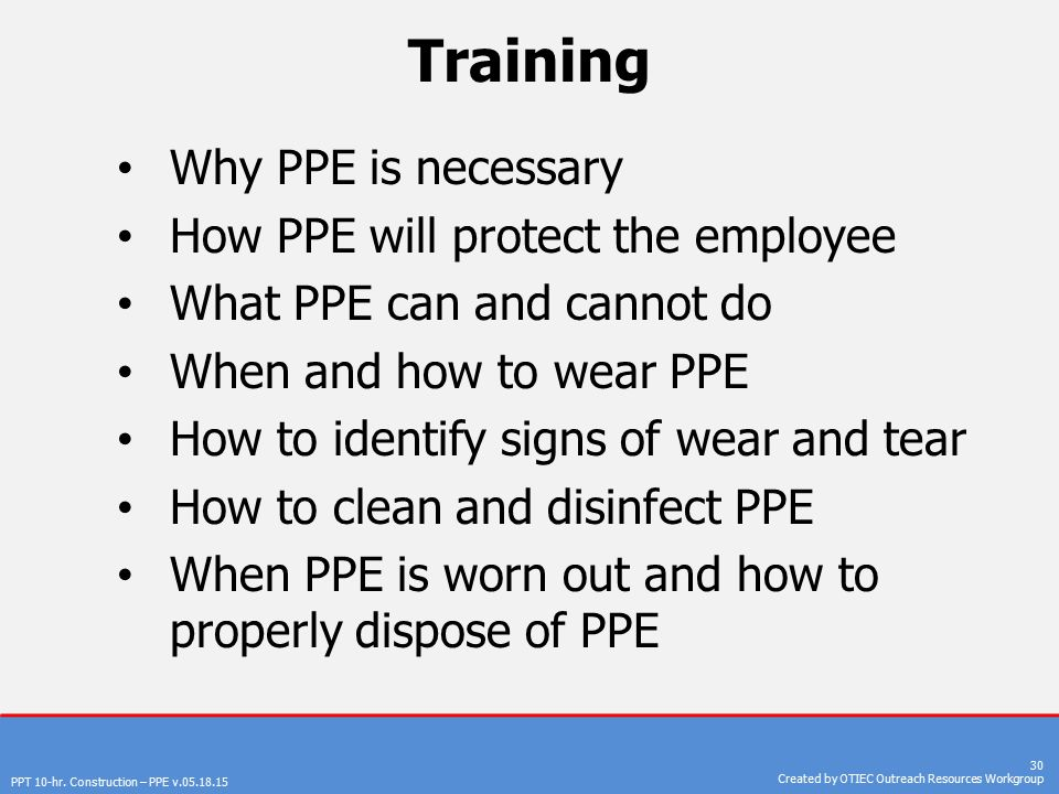 personal protective equipment ppt download