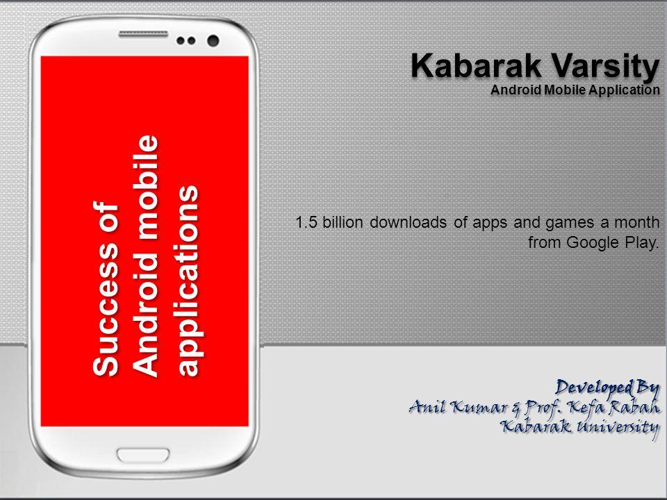 Kabarak University Android Mobile Application Kabarak