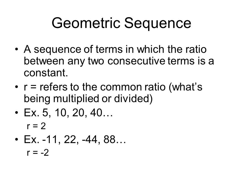 arithmetic vs geometric sequences pdf