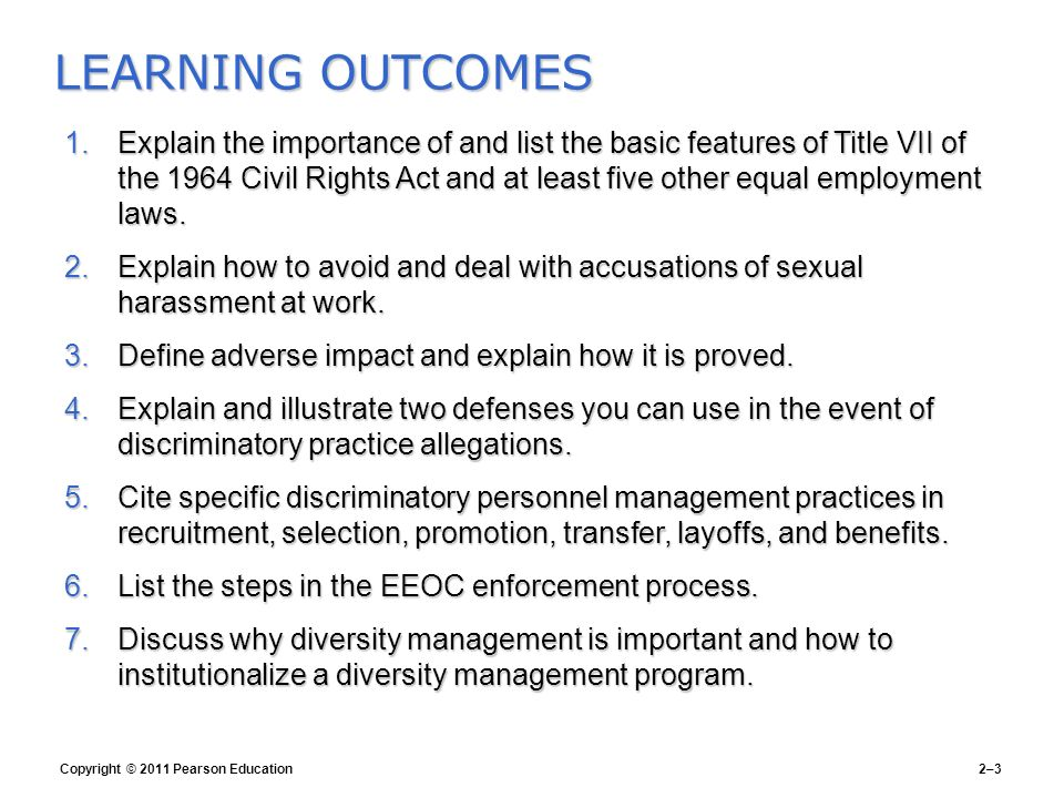Elements of sexual harassment title vii of the civil rights
