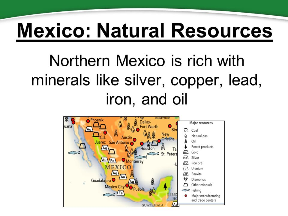5 mexico natural resources