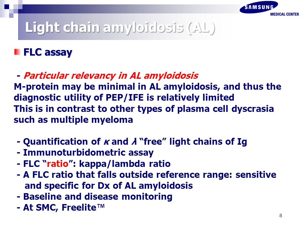 Light Chain Amyloidosis (AL)