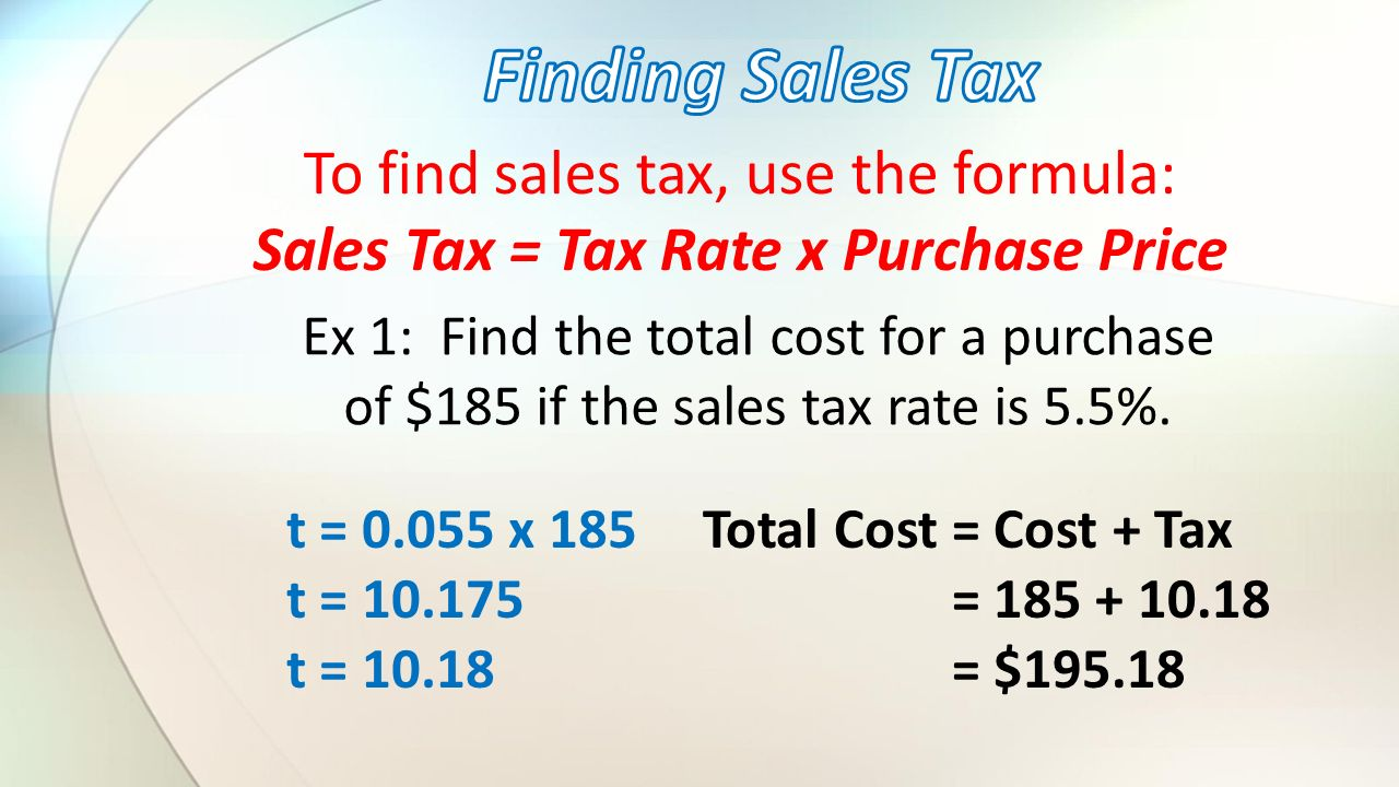 How To Figure Out Sales Tax >> Bell Work Jan 28 1 2 Obj I Will Use Percents To Determine