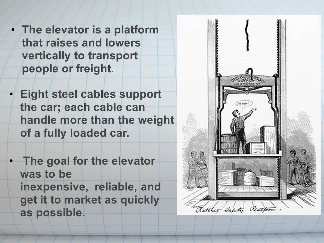 Elisha Otis Elevator Safety Brake Best 2017 Wiring Diagram Electrical Diagrams