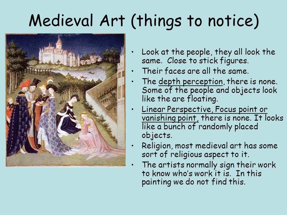 middle ages vs renaissance art