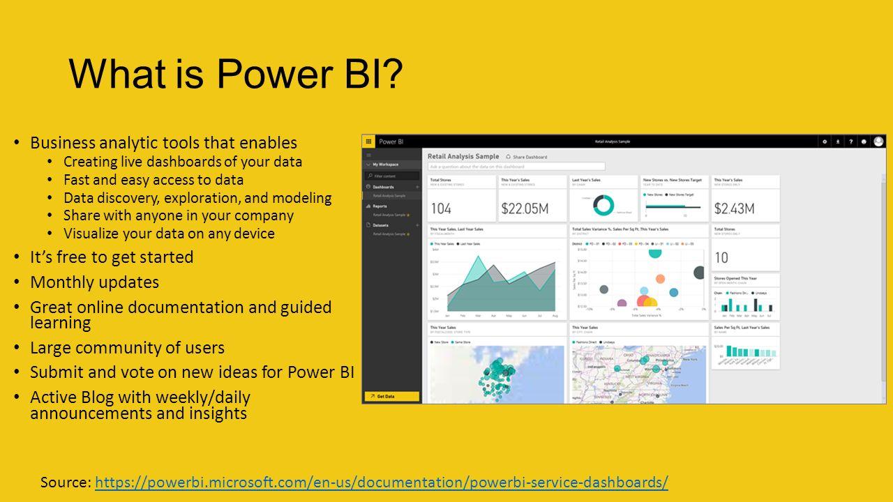 Microsoft Power BI Stack - ppt video online download