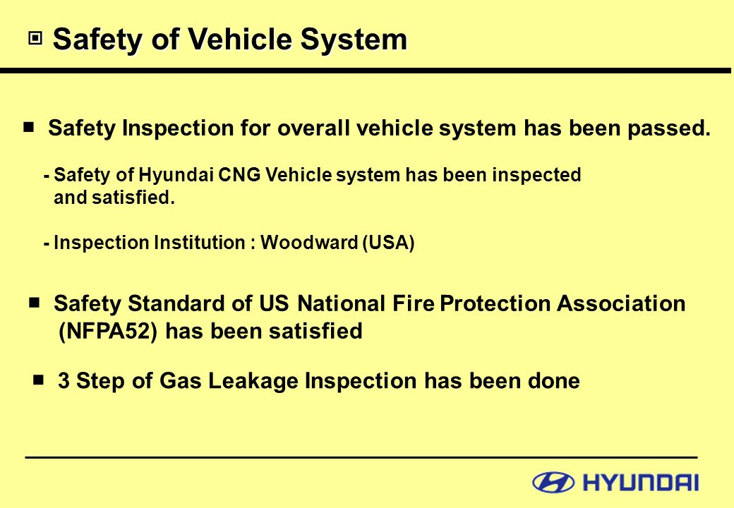 Introduction of HYUNDAI CNG BUS - ppt video online download