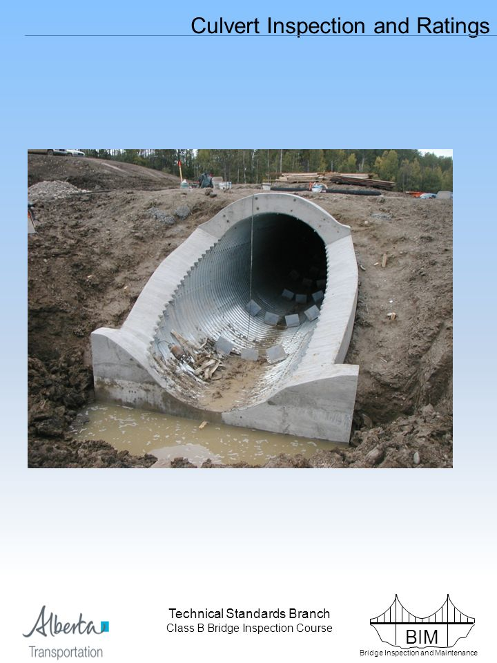 Introduction Bridge sized culverts have an equivalent diameter of