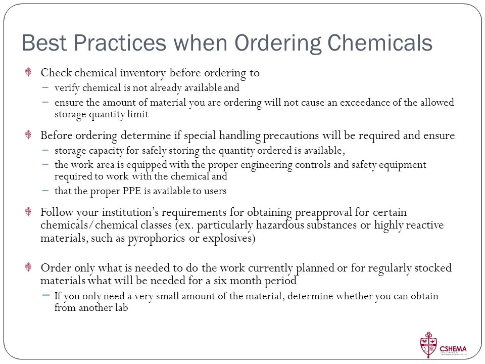 Managing Chemicals in the Workplace: - ppt download