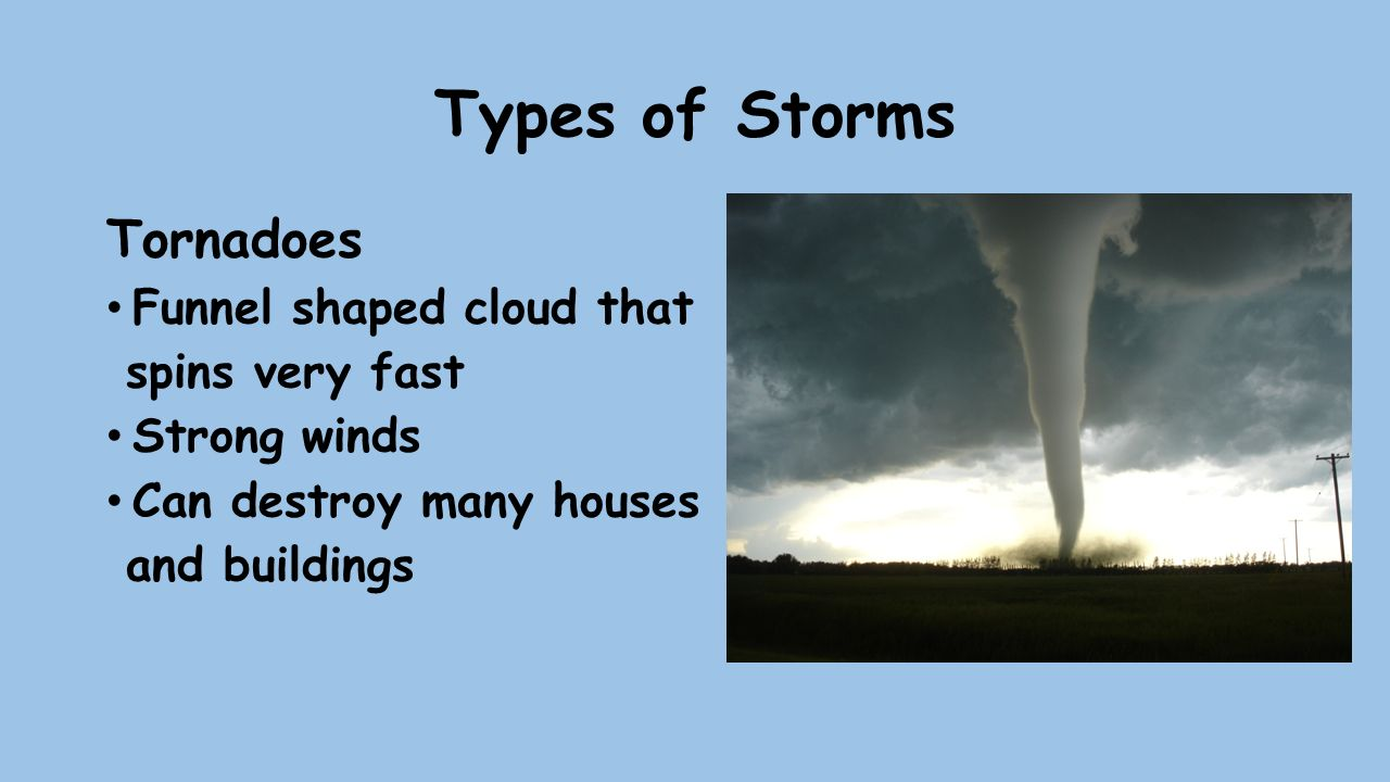 10 types of storms