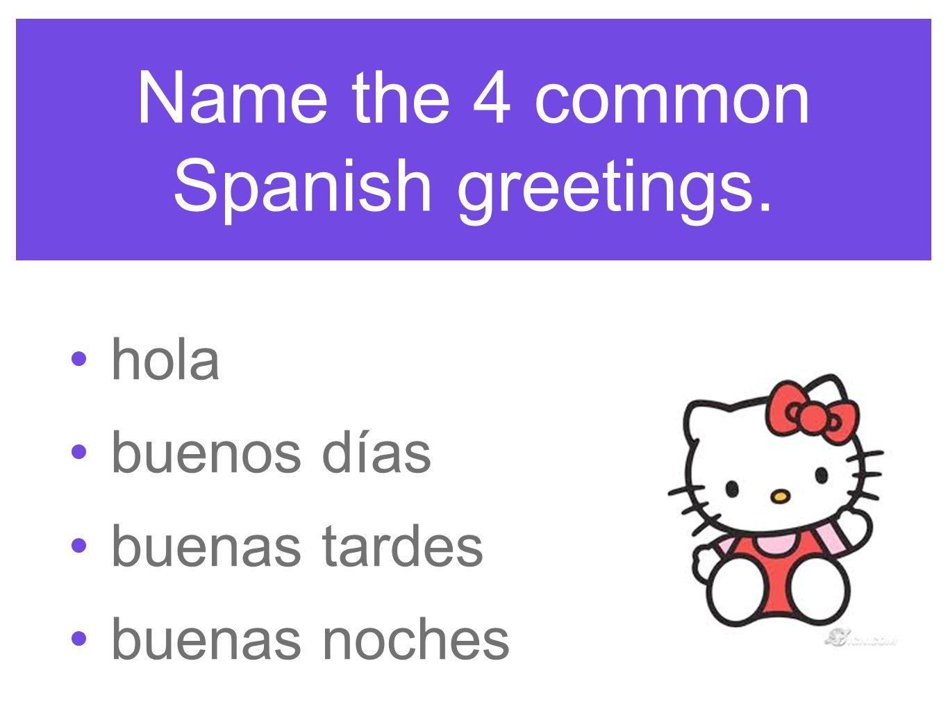 Greeting people ppt video online download name the 4 common spanish greetings m4hsunfo