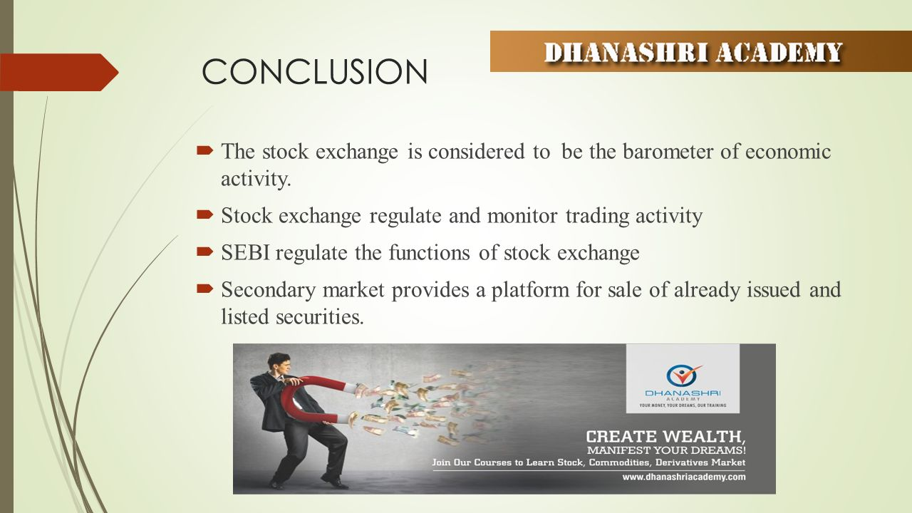 Exchange business: Commodity securities