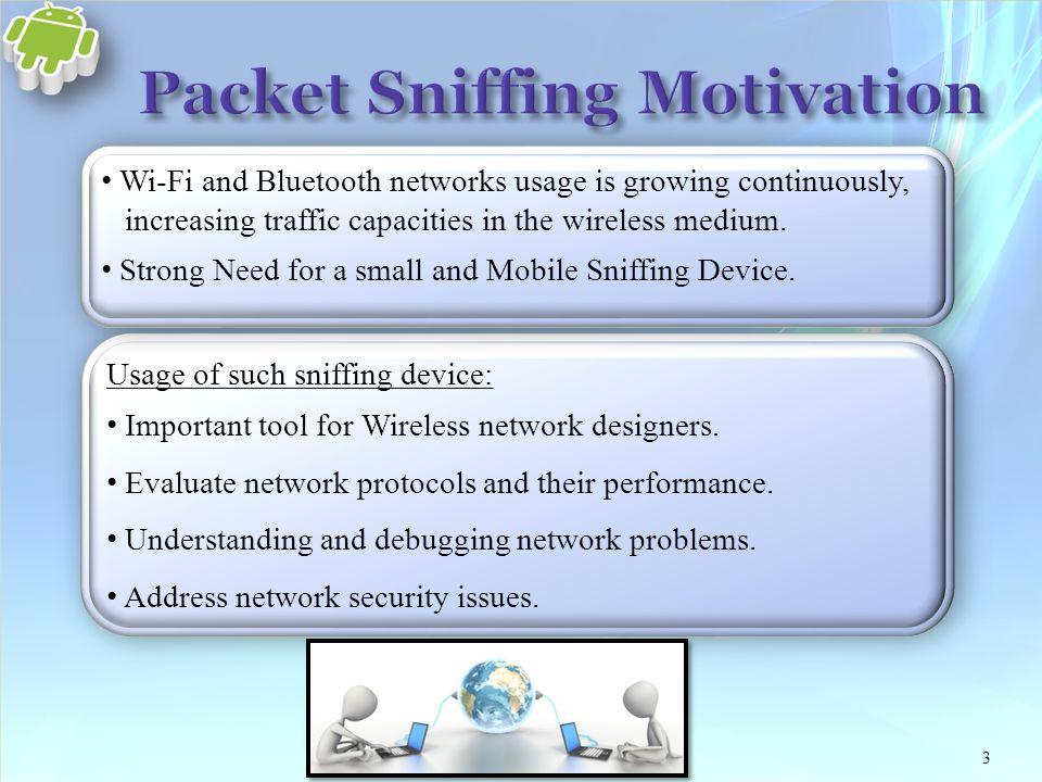 Mobile Packet Sniffer Ofer Borosh Vadim Lanzman Dr  Chen Avin - ppt