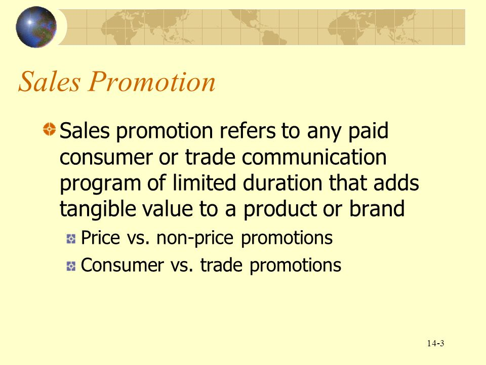 Chapter 14 global marketing communications decisions ii sales 3 sales promotion fandeluxe Images