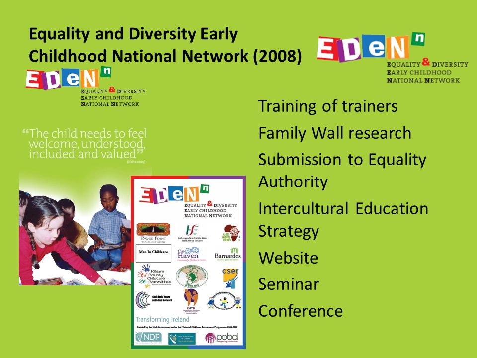 equality and diversity in childcare