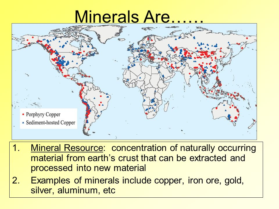 Nonrenewable natural resources ppt video online download 2 minerals are gumiabroncs Choice Image