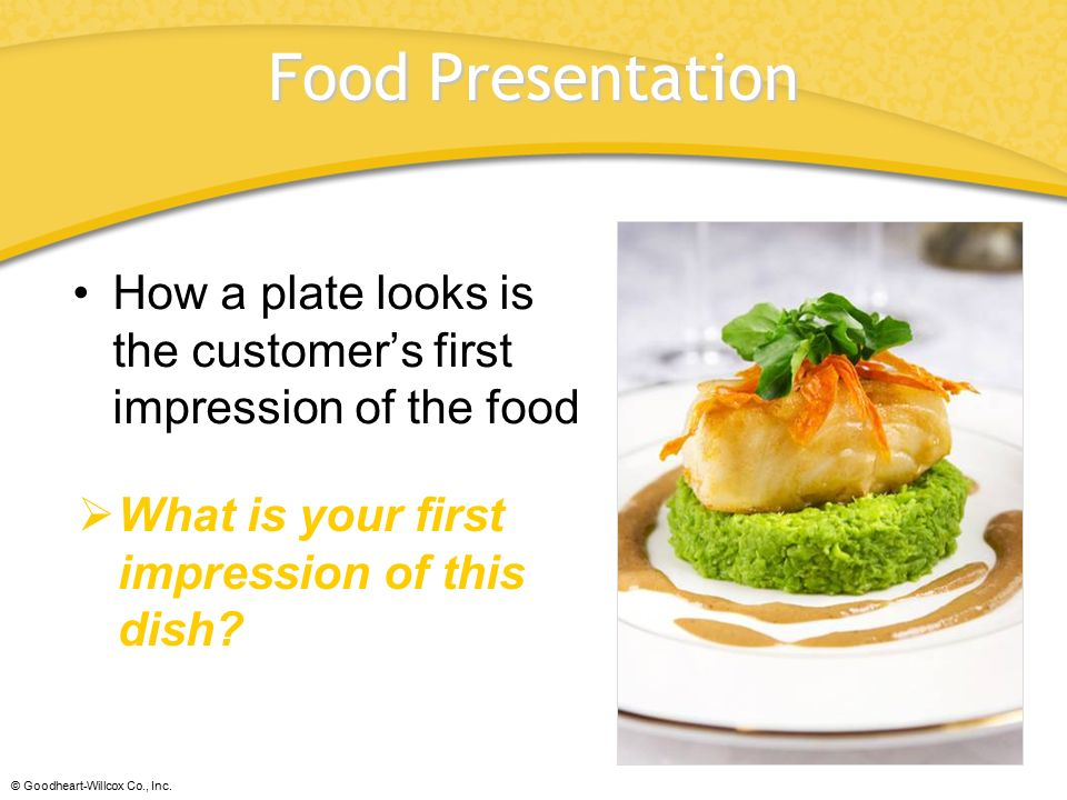 chapter 44 food presentation chapter 44 food presentation ppt