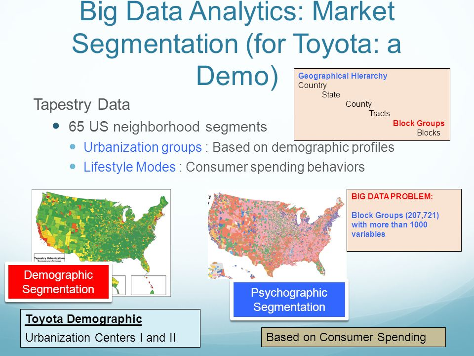 toyota demographic segmentation