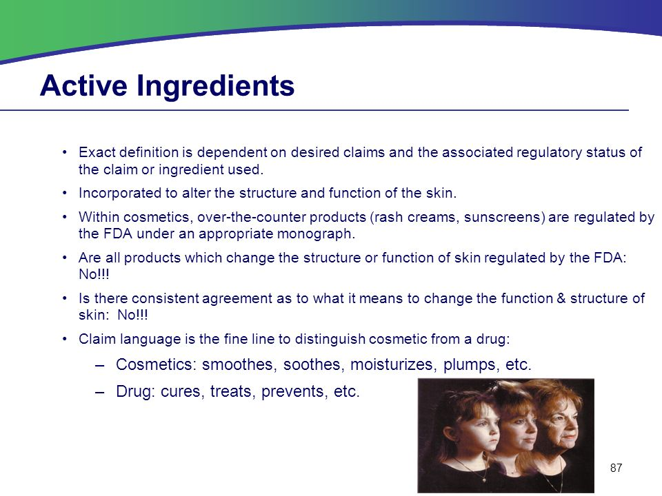 Benedictine University Cosmetic Chemistry Course Topics