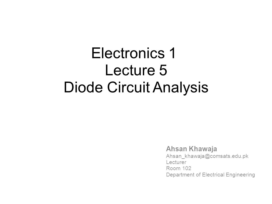 Diode Circuit Analysis Ppt Video Online Download Meaning Of Biasing In Electrical Electronics Circuits
