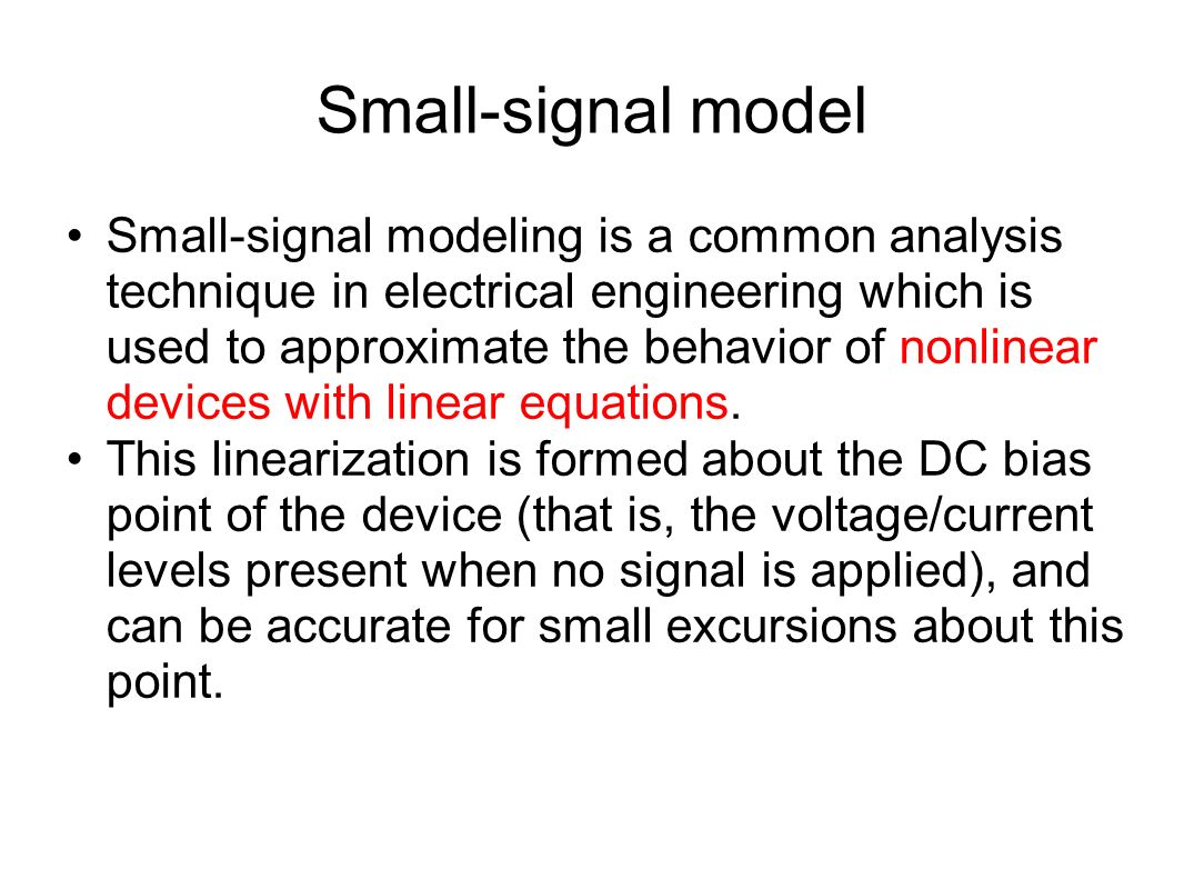 Diode Circuit Analysis Ppt Video Online Download Meaning Of Biasing In Electrical Electronics Circuits Small Signal Model
