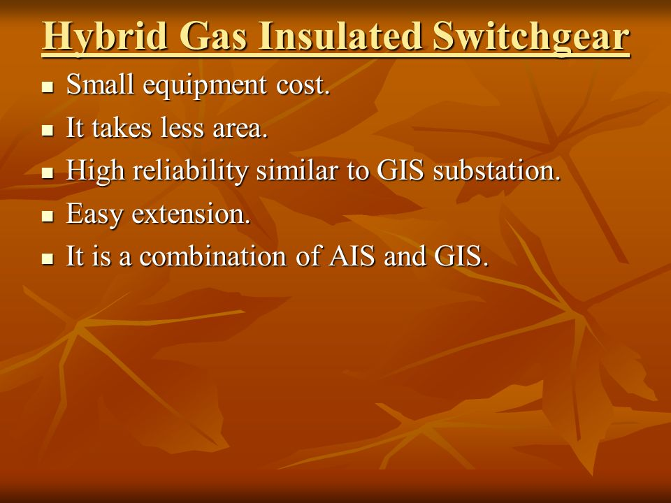TOPIC-GAS INSULATED SUBSTATION - ppt video online download