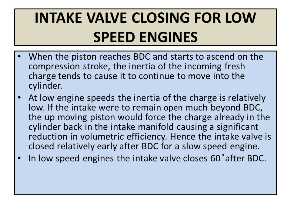Valve Timing Diagram Of Four Stroke Engines Ppt Video Online Download