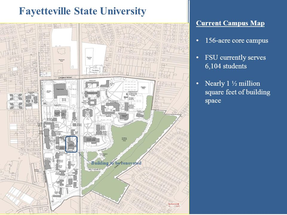 fayetteville state campus map Lyons Science Building Comprehensive Renovation Project Ppt Download fayetteville state campus map